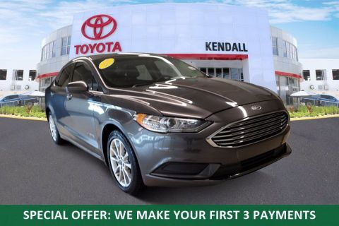 Used 2017 Ford Fusion Hybrid SE Black | Miami, FL