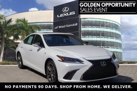 New! 2019 Lexus ES 350 Ultra White | Miami, FL