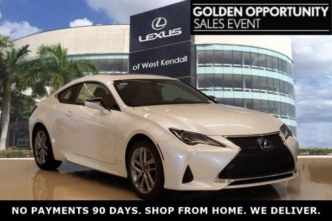 New! 2020 Lexus RC Eminent White Pearl | Miami, FL