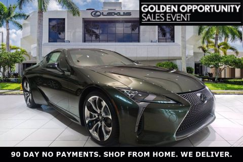 New! 2020 Lexus LC Nori Green Pearl | Miami, FL