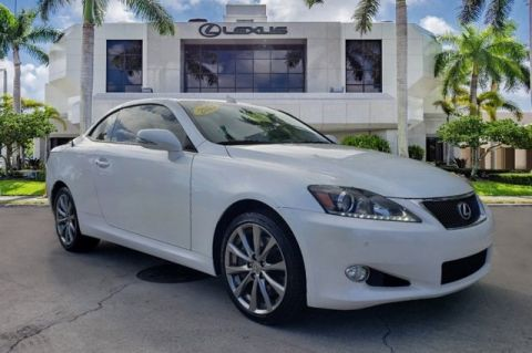 Used 2013 Lexus IS 350 C RWD 2D Convertible