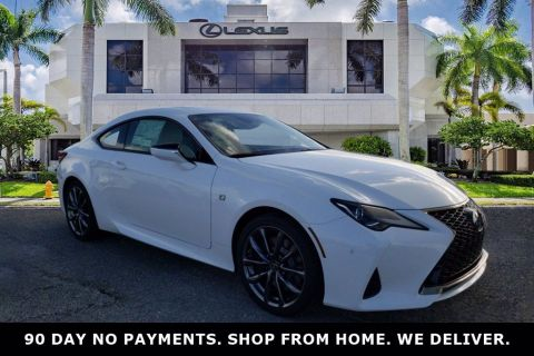 New! 2020 Lexus RC 300 Ultra White | Miami, FL