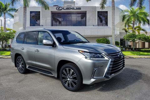 New 2020 Lexus LX 570 THREE-ROW