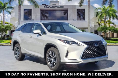 New! 2020 Lexus RX 350L Moonbeam Beige Metallic | Miami, FL