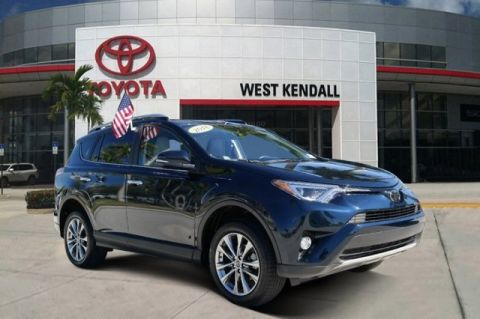 Used 2018 Toyota RAV4 Limited FWD 4D Sport Utility