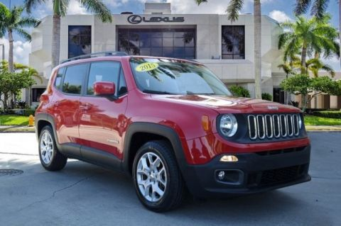 Used 2015 Jeep Renegade Latitude FWD 4D Sport Utility